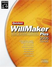 Cover of: Quicken Willmaker Plus