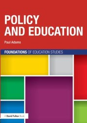 Cover of: Policy And Education