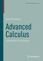 Cover of: Advanced Calculus A Differential Forms Approach