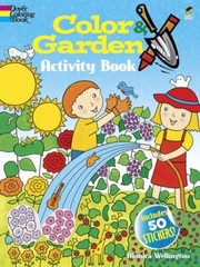 Cover of: Color Garden Activity Book With 50 Stickers