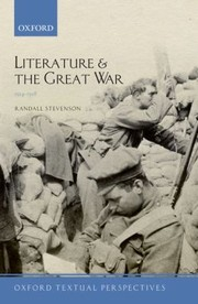 Cover of: Literature And The Great War 19141918