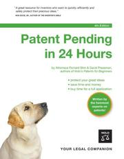 Cover of: Patent Pending in 24 Hours | Richard Stim