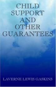 Cover of: Child Support and Other Guarantees