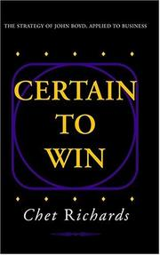 Cover of: Certain to Win