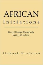 Cover of: African Initiations