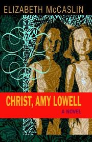 Cover of: Christ, Amy Lowell