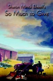 Cover of: So Much to Give