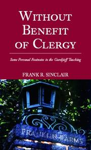 Cover of: Without Benefit of Clergy