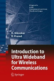 Cover of: Introduction To Ultra Wideband For Wireless Communications