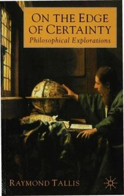 Cover of: On The Edge Of Certainty Philosophical Explorations