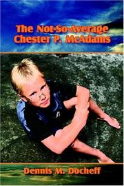 Cover of: The Not-So-Average Chester P. McAdams