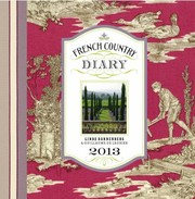 Cover of: French Country Diary 2013