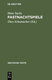 Cover of: Fastnachtspiele