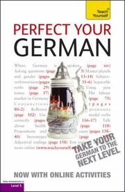Cover of: Perfect Your German