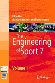 Cover of: The Engineering Of Sport 7 Vol 1