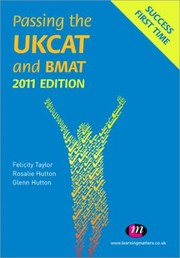 Cover of: Passing The Ukcat And Bmat