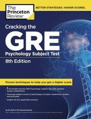 Cover of: Cracking The Gre Psychology Subject Test