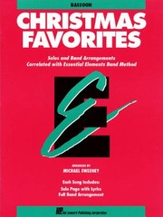 Cover of: Essential Elements Christmas Favorites  Bassoon
