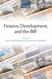 Cover of: Finance Development And The Imf