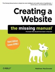 Cover of: Creating A Website |