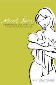 Cover of: Start Here Breastfeeding And Infant Care With Humor And Common Sense