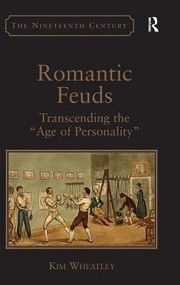 Cover of: Romantic Feuds Transcending The Age Of Personality