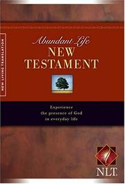 Cover of: Abundant Life New Testament |