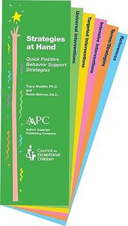 Cover of: Strategies At Hand Quick And Handy Positive Behavior Support Strategies