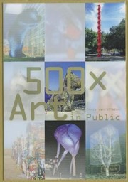 Cover of: 500 X Art In Public