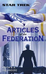 Cover of: Articles of the Federation