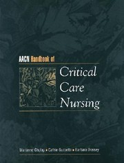 Cover of: Aacn Handbook of Critical Care Nursing With