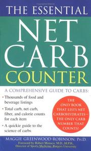 Cover of: The essential net carb counter