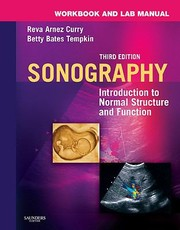 Cover of: Sonography Introduction To Normal Structure And Function