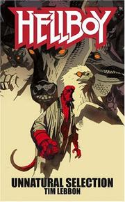 Cover of: Unnatural Selection (Hellboy)