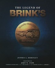 Cover of: The Legend Of Brinks