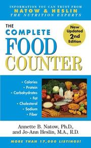 Cover of: The Complete Food Counter | Annette B. Natow, Jo-Ann Heslin