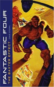 Cover of: The Baxter Effect (Fantastic Four)
