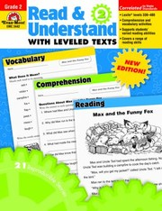 Cover of: Read Understand With Leveled Texts