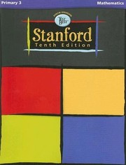 Cover of: Stanford Tenth Edition