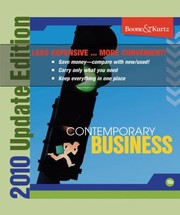 Cover of: Contemporary Business 2011 Update
