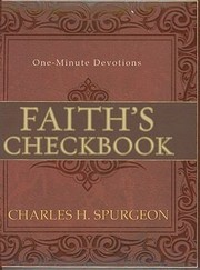 Cover of: Faiths Checkbook Oneminute Devotions