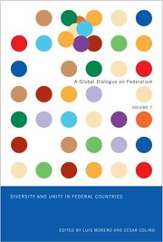 Cover of: Diversity And Unity In Federal Countries