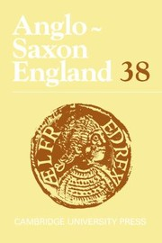 Cover of: Anglosaxon England