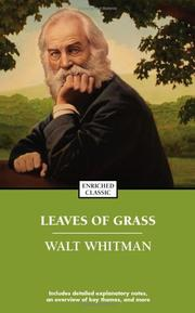 Cover of: Leaves of Grass (Enriched Classics) | Walt Whitman
