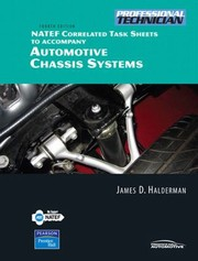 Cover of: Natef Correlated Task Sheets To Accompany Automotive Chassis Systems