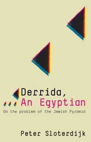 Cover of: Derrida An Egyptian On The Problem Of The Jewish Pyramid