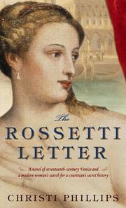 Cover of: The Rossetti Letter