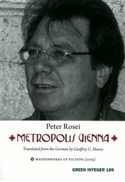 Cover of: Metropolis Vienna A Novel