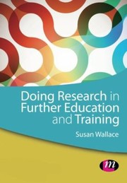 Cover of: Doing Research In Further Education And Training