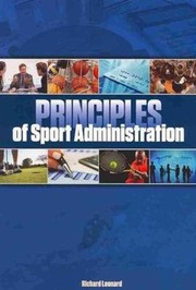 Cover of: Principles Of Sport Administration